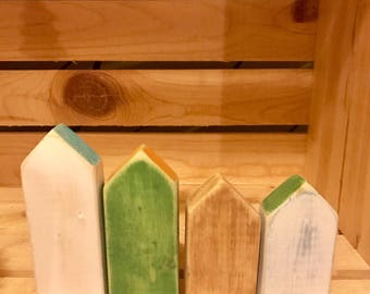 Cute Tiny Wooden Houses