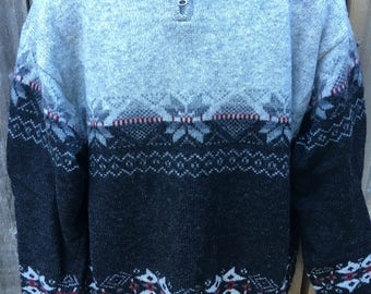 Men's Pendleton vintage wool sweater
