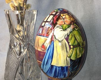Wooden Easter Egg Russian tradition, Easter gift Easter Egg Souvenir From Russia, Wooden Easter Egg, Happy Easter Eggs, Easter Egg