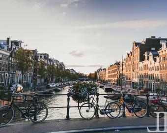 WALL ART Amsterdam Photography Print