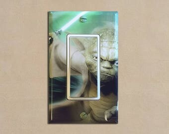 Star Wars (Yoda) - Light Switch Plate Covers Home Decor Outlet