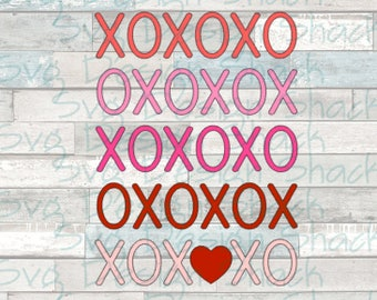 Hugs and Kisses SVG, DXF, EPS, Studio 3, Png