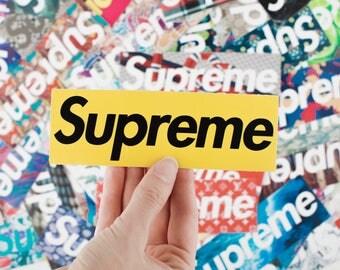 100 sticker pack supreme sticker supreme gucci supreme box logo supreme decal louis vuitton supreme stickers supreme x gucci supreme nike