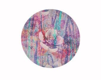 Flower Drops • Cutting Board