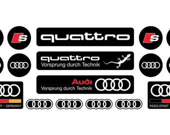 Audi stickers