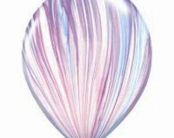 Fashion SuperAgate Latex Balloon