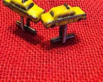 NY Yellow Taxi Cufflinks