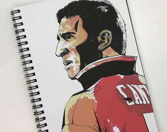 Manchester United Eric Cantona Notebook A5