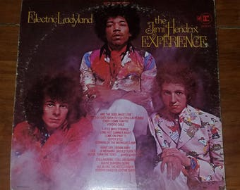 Vinyl: Jimi Hendrix Experience, Electric Ladyland, Free Shipping