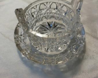 Little vintage glass bowl