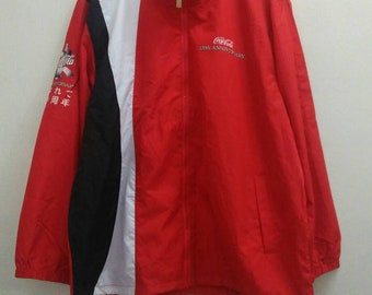 Cocacola 120th Anniversary Windbreaker Jacket