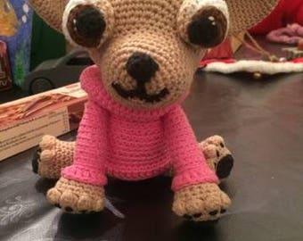 Crochet chihuahua