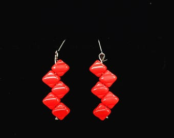 Graceful Creations jewelry is all handmade with love.  The earrings crafted are hypoallergenic, stainless steel, clasping ear hooks.