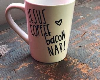 Jesus Coffee Bacon & Naps