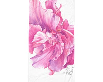 Greek Flower Towel