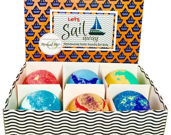 MineralMe Kids bath Bombs Gift Set