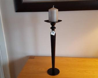 Handmade Wrought Iron Table leg candle holder