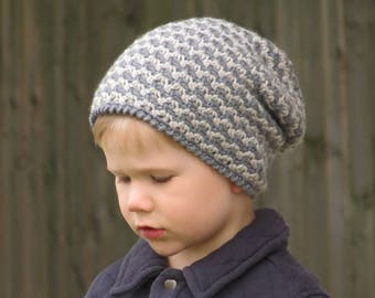 Slouchy Hat, Slouchy Beanie (sizes: 3-6 years, Boys or Girls) - Ready to Ship