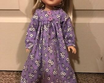 Wellie Wisher purple night gown