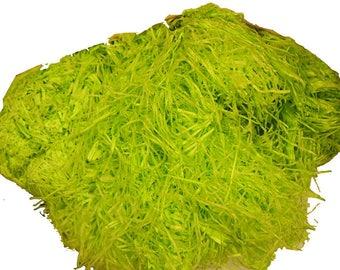Paper Shreds Packaging Filler Shred 3.5oz/100g Lime