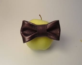 Baby bow tie Brown