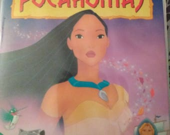 Authentic vhs #5741Pocahontas masterpiece collection