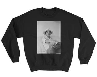 Young Barack Obama - 420 Smoking Mens Womens Unisex Holiday Sweater Pullover Oversize Sweat Shirt