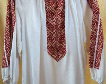 Women's blouse Ukrainian vyshyvanka Ukrainian embroidery Embroidered shirt Ukrainian clothing HANDMADE Clothing gift New year discounts!