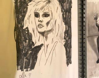 Debbie Harry fan art Blondie