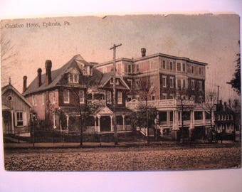 Postcard of: Cocalico Hotel in Ephrata PA