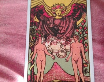3 Card Psychic Tarot Reading with Spiritual Mentoring - Ask 2 Questions