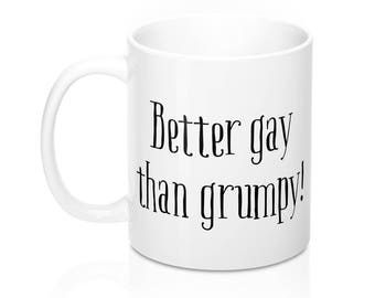 Gay Mug, ValentineS Day Gift, Funny Mug, Gay Gift, Gay Pride, Gay Coffee Mug, Gay Uncle, Lgbt Mug, Gay Gifts, Gay Wedding Gift, Funny coffee