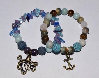 Nautical diffuser bracelet