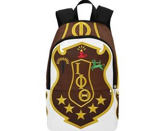 Iota Phi Theta Custom Fabric Backpack