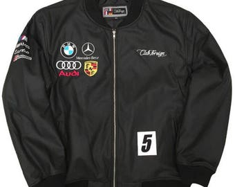 Club Foreign Germany Racing Jacket Black