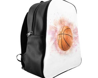 Nahli Whimsical Basketball School Backpack