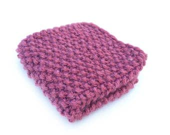 Washcloth, Dishcloth, Knit Washcloth, Knit Dishcloth , Facecloth, knit facecloth, Pink Washcloth, pink facecloth, cleaning