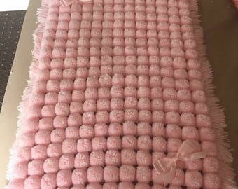 Boutique Pom Pom blankets