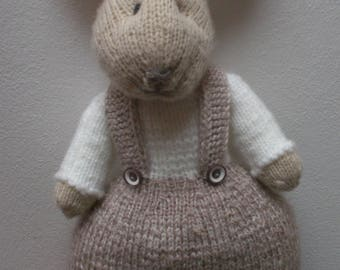 Bunny Hand knitted/Easter Bunny