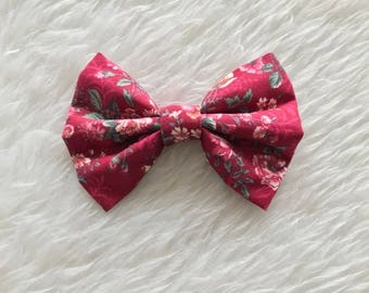 Red Rose Bow