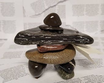 Stone Inukshuk
