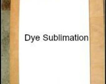 "10pcs. .026 12""x 18"" Dye White Sublimation Aluminum Sign Blanks, Holes & RC - DOT Std."