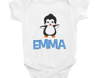 Emma Penguin Infant Bodysuit