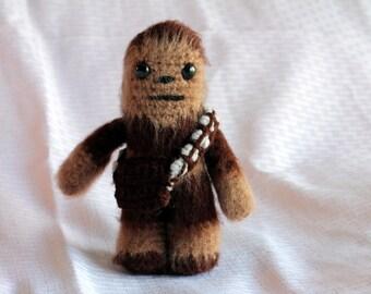 Handmade Star Wars Chewbacca Crochet Amigurumi Figure
