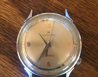 Vintage Hamilton Watch - Gold