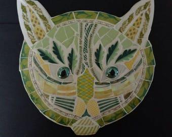 Green cat