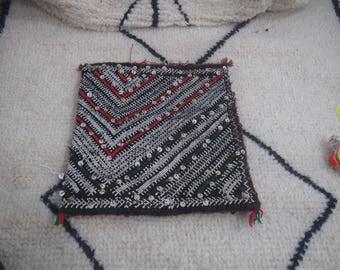 Moroccan cushion Handmade Berber Kilim Wool   unstuffed