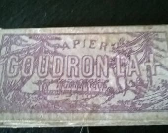 La Goudron LA vintage cigarette papers