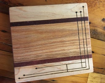 Maple Lacewood & Oak Cheese Board