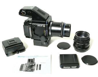 Mamiya RZ67 Pro Medium Format Film Camera Body w/ 2 Lenses and Motor, Excelllent Condition